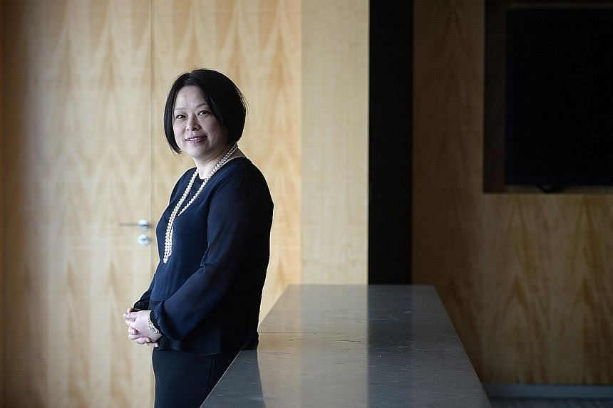 """At the start of her work life, Ms Chen was a """"tough cookie"""" who survived the high-pressure environment of the trading floor."""