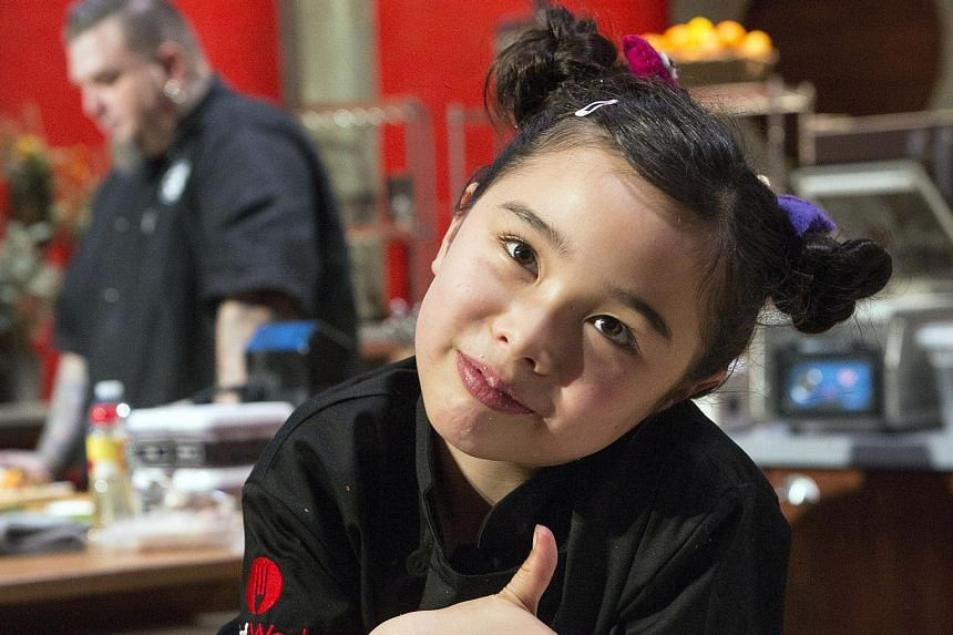 "Estie Kung hopes to open her own restaurant, ""when I'm legally allowed""."