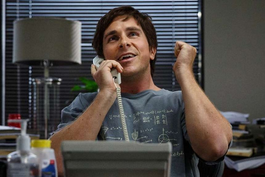 The Big Short, starring Christian Bale (above), is set on the eve of the 2008 global financial meltdown.