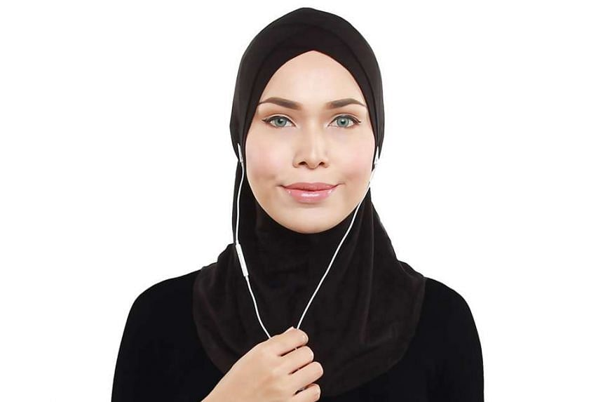 The Ninja Echo hijab was designed by former fashion stylist Adlina Anis (above).
