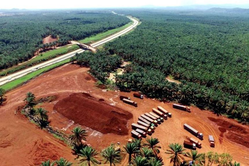 Operations to clean areas affected by bauxite mining in Kuantan, Pahang, began on Jan 14, 2016.