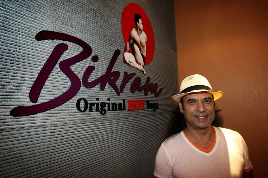 Bikram Choudhury, founder of Bikram Yoga.