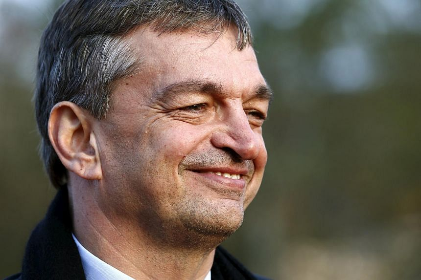Fifa presidential candidate Jerome Champagne of France speaks during a Reuters interview in Switzerland, on Oct 30, 2015.