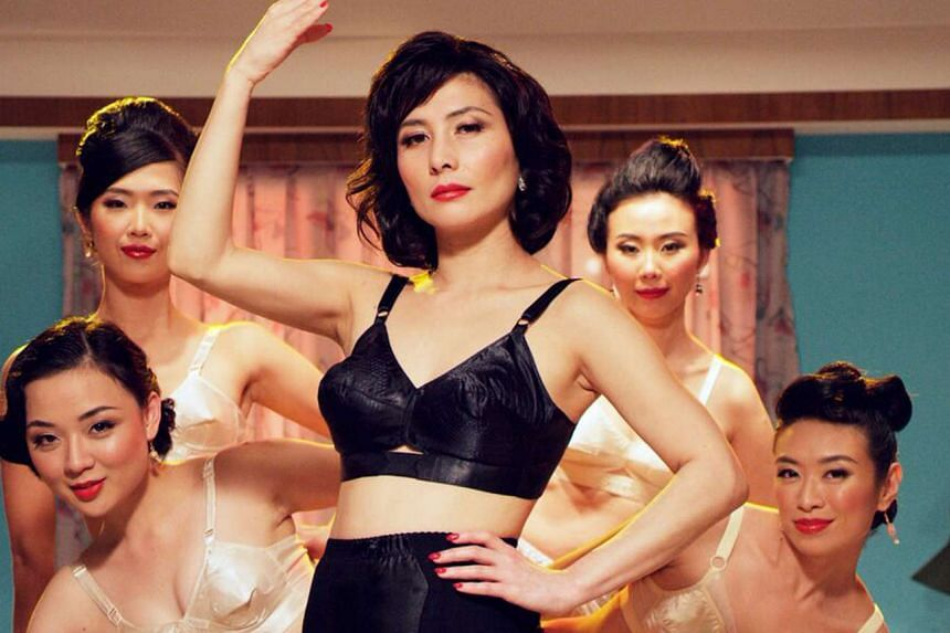 Hong Kong actress Josie Ho (centre) plays a mamasan in Eric Khoo's new R21 film, In The Room.