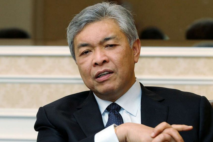 Malaysian Deputy Prime Minister Ahmad Zahid announced the launch of Asean's first ever anti-terror digital messaging centre in Malaysia.
