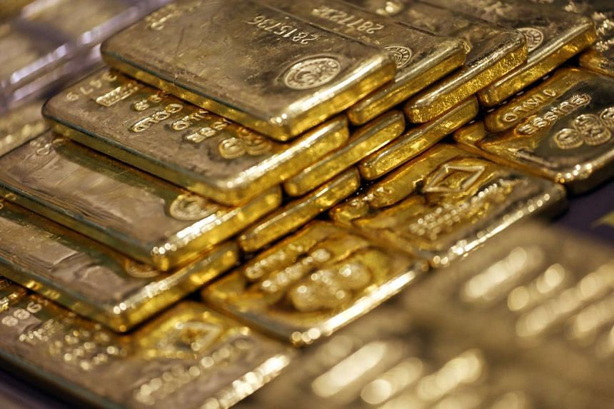 Gold is up 5 per cent this year with the MSCI Asia Pacific Index down 11 per cent.
