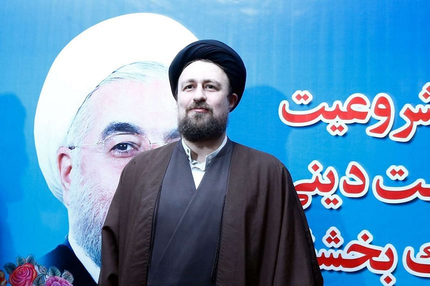 Hassan Khomeini, grandson of late Iranian supreme leader Ayatollah Ruhollah Khomeini, has been disqualified from next month's parliamentary elections.