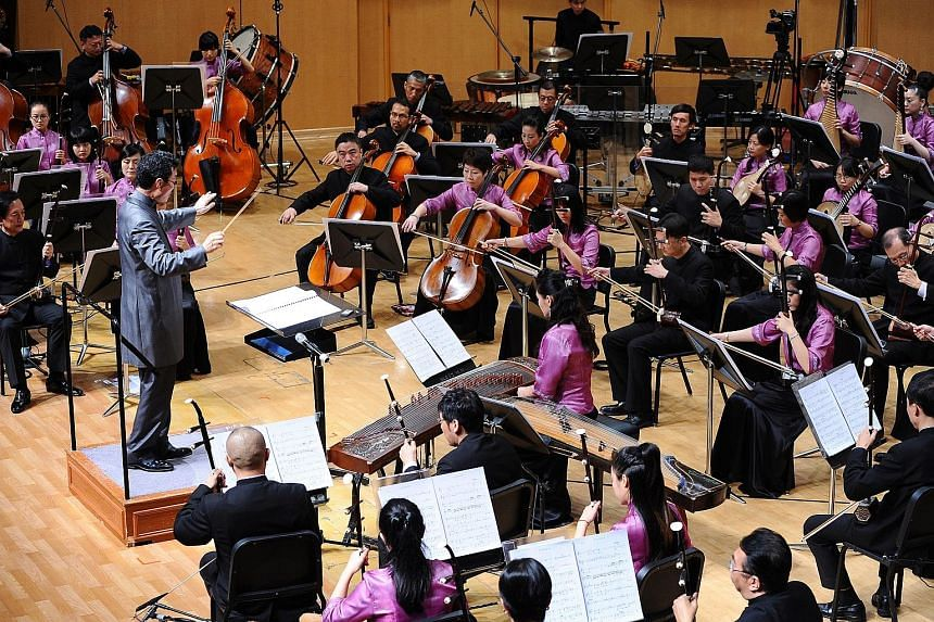 Conductor Yeh Tsung's concert gives a glimpse into the four great classical novels of Chinese literature.