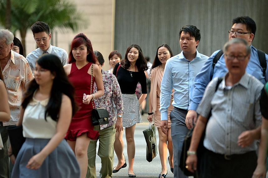 Mr Desmond Choo said the Government and employers should help millennials - aged between 16 and 35 now - as they are the ones who will shape Singapore's next 50 years. Millennials form about 22 per cent or 1.2 million of the population.