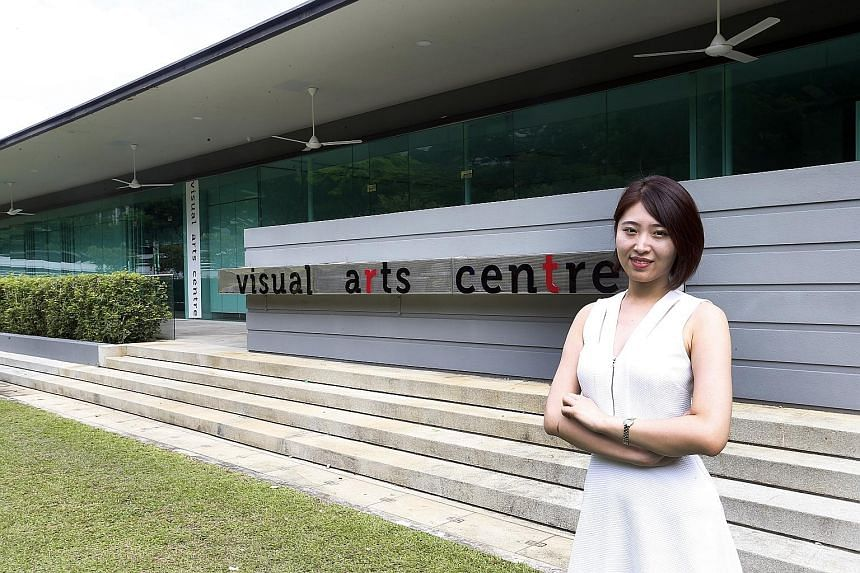 The new centre at Dhoby Ghaut Green has a 161 sq m gallery for exhibitions and an 84 sq m studio for classes and workshops. Director of the centre Iola Liu has lined up a series of foundation art courses in oil painting, drawing and sketching to begi