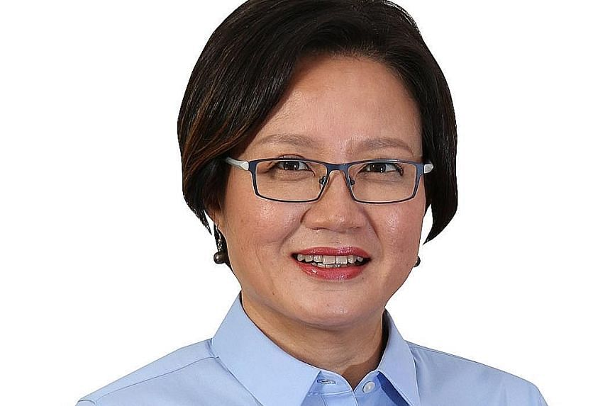 """Ms Lim of the Workers' Party also called for the Government """"to let go and devolve more power""""."""