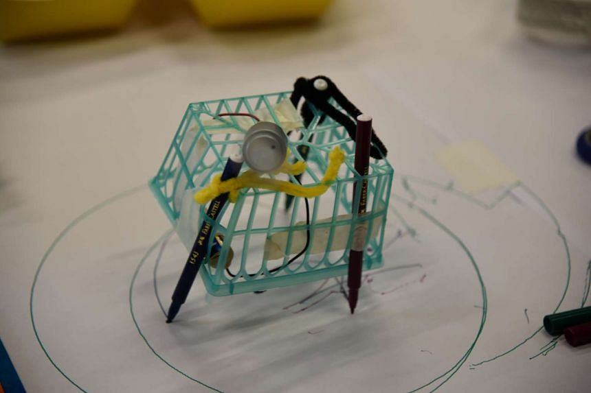 Scribble Bot - constructed using a base (made up of everyday items like milk cartons and paper cups), motors, markers and batteries, visitors will be able to create motorised machine that draws lines and circles.