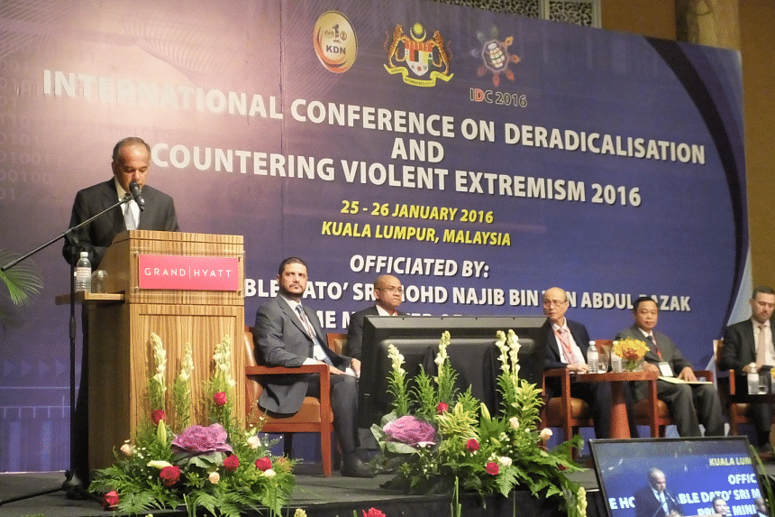 Minister for Home Affairs and Minister for Law K. Shanmugam said that public outreach is important in preventing radicalisation.