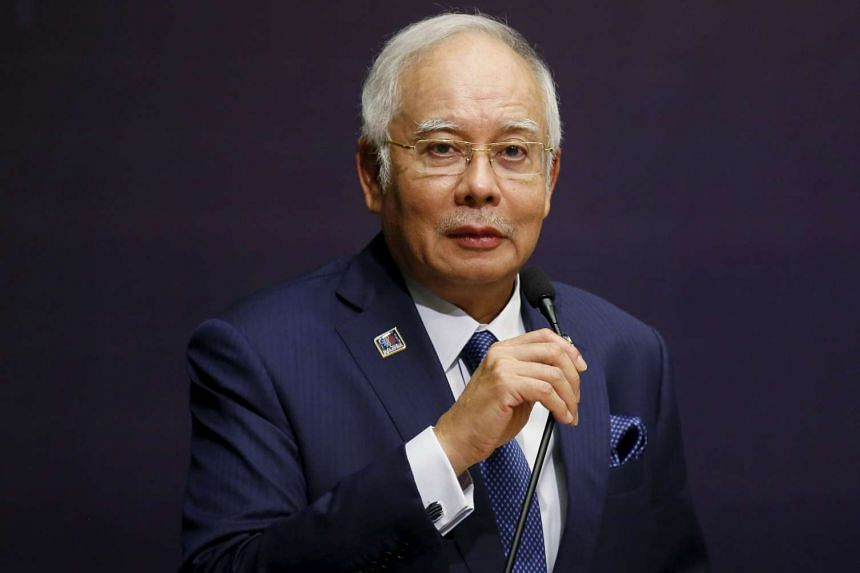 Malaysia's anti-graft agency recommended that Prime Minister Najib Razak (above) charged with criminal misappropriation.