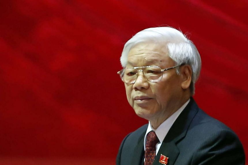 Nguyen Phu Trong was re-elected  following an eight-day party congress on Jan 27, 2016.