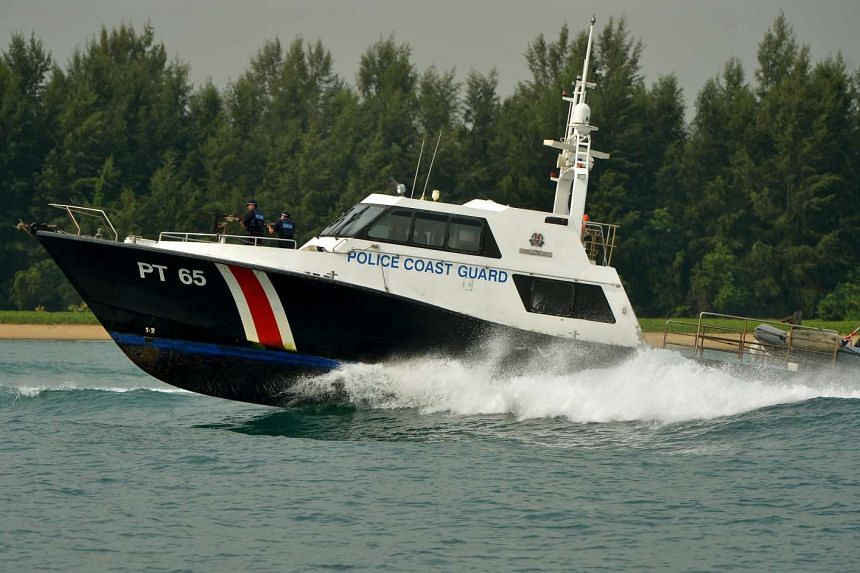 The Singapore Coast Guard said it arrested five illegal immigrants in recent days.