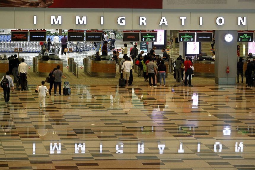 All travellers who are entering Singapore will have their fingerprints taken from June.
