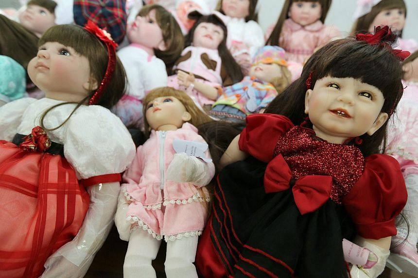 Child Angels Dolls, believed by some to hold children's spirits, and can bring good luck, wealth, blessing and protection from harm.