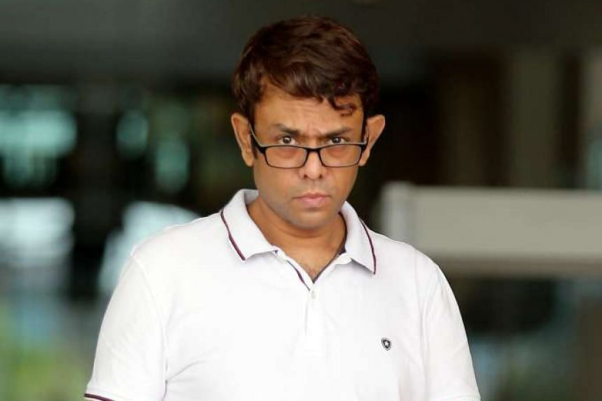 Gabriel Ravi Janageran ignored reminders to pay fines before he was issued a summons to appear in court.