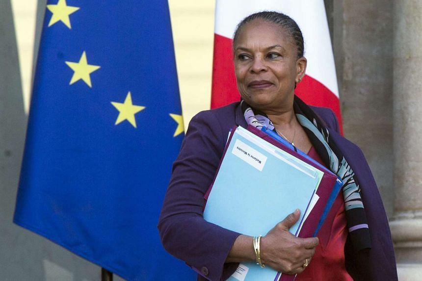 French Justice Minister Christiane Taubira quit on Jan 27, 2016.