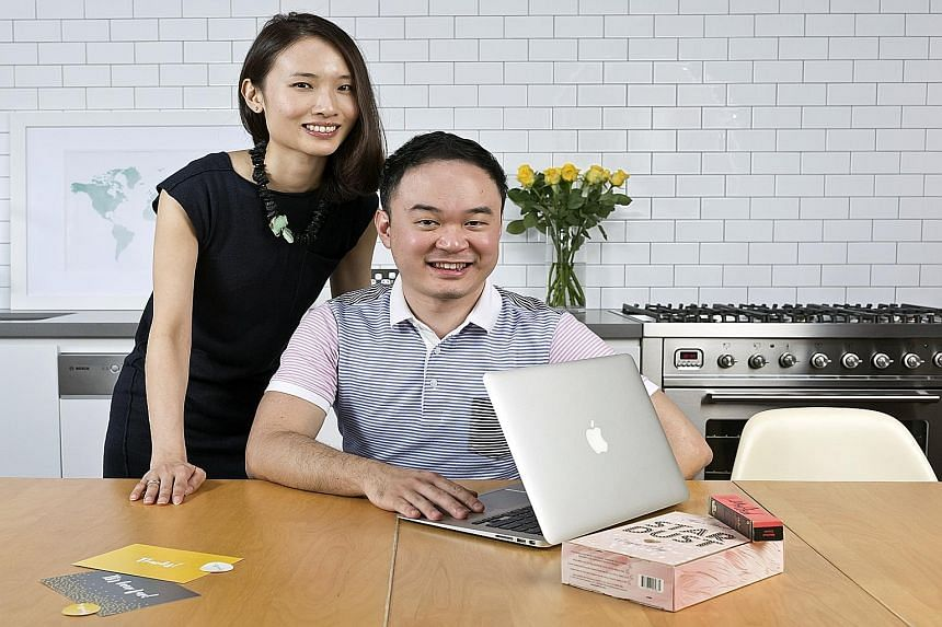 "Mr Tai Xin-lung and his wife, Ms Rebecca Chia, co-founded ShopandBox, together with his high-school friend, Mr Louis Tan, in 2013. The service promises to let users ""shop like a local"" and has over 80 personal shoppers in 21 countries."