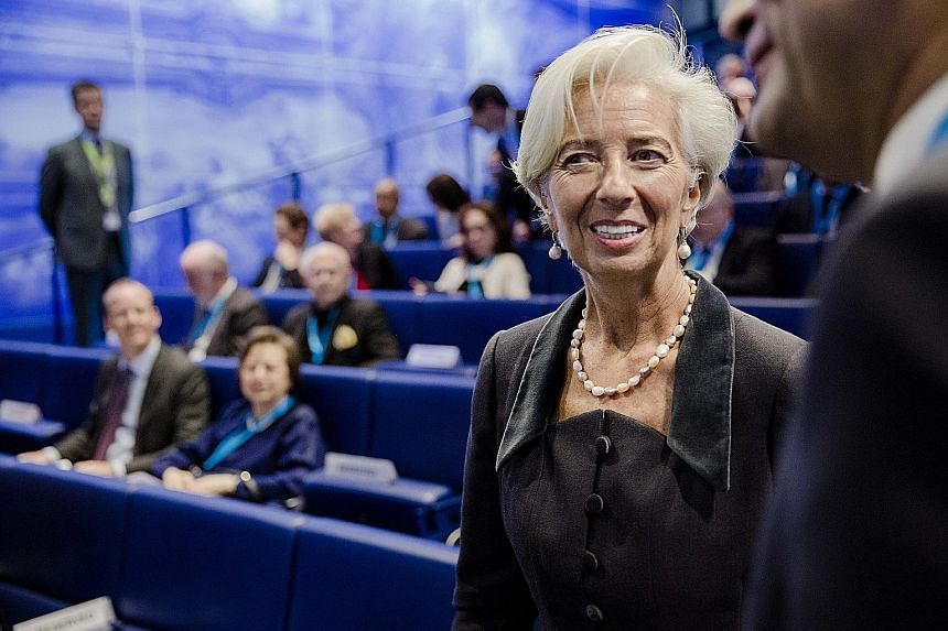 Ms Lagarde, managing director of the International Monetary Fund, helped bring credibility to an institute reeling under the sex scandal of its previous chief Dominique Strauss-Kahn and steered it through rough waters, such as the Greek crisis.