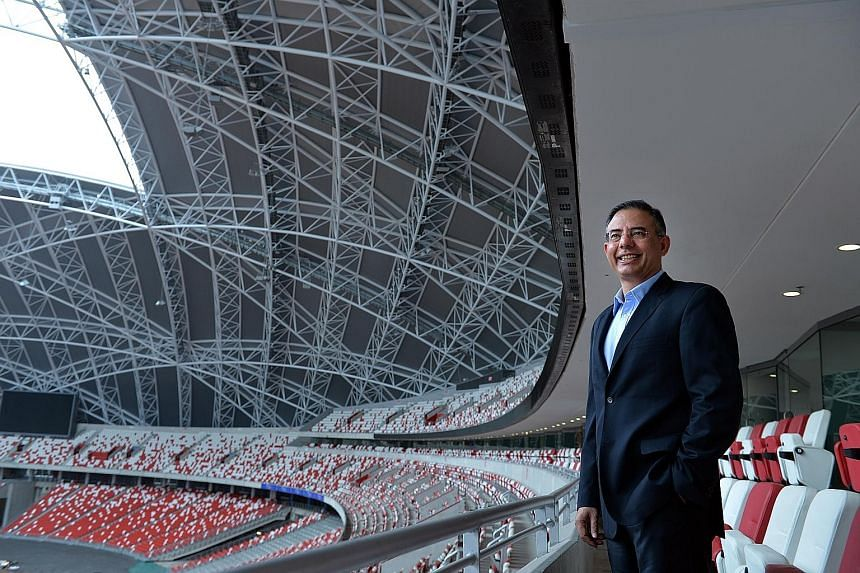 """""""If you look at my experience and background, I've always enjoyed a challenge and complex situations,""""says Sports Hub chief Manu Sawhney as he reflects on his first 100 days in the job. When asked if the Sports Hub was overpriced to the point of turn"""