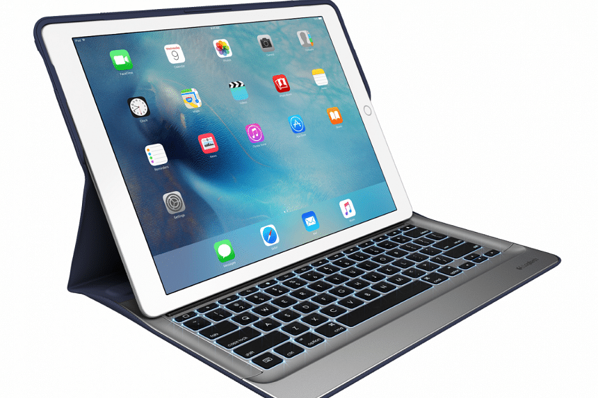 The Logitech Create Backlit Keyboard Case offers all-round protection for your iPad Pro. PHOTO: LOGITECH