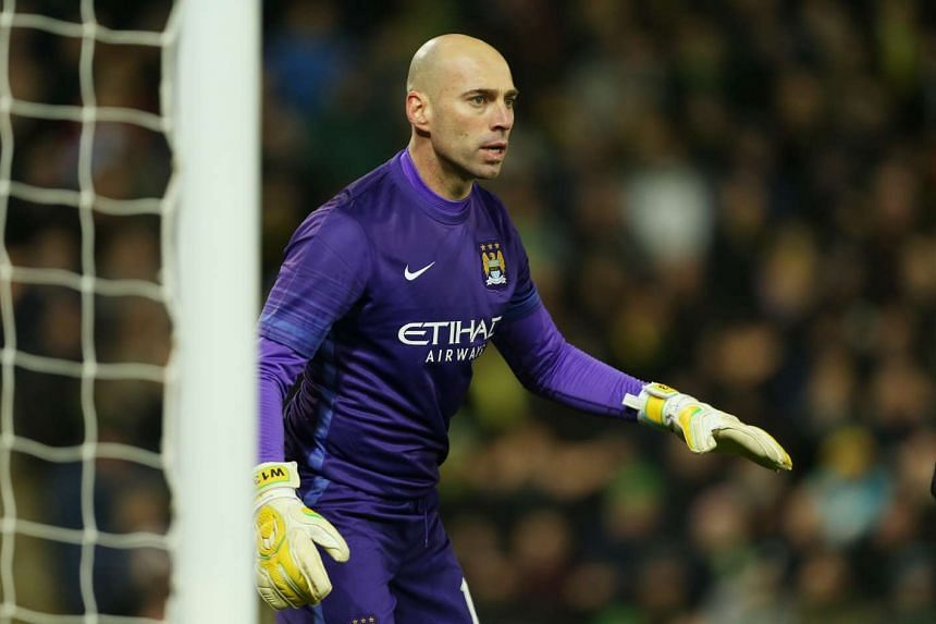 Manchester City back-up goalie Willy Caballero will be hoping for a clean sheet against Everton to help his team reach the League Cup final.