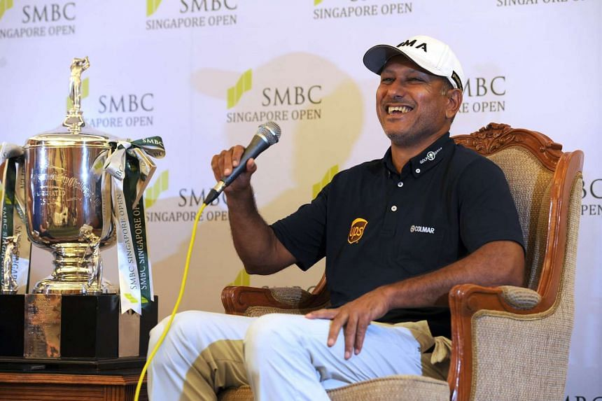 Jeev Milkha Singh of India, the last Asian to lift the Singapore Open trophy in 2008, believes the continent's golfers are capable of winning anywhere around the world.