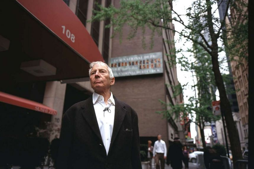 Murder suspect Robert Durst (above) appeared to admit his guilt on tape in docu-series The Jinx.