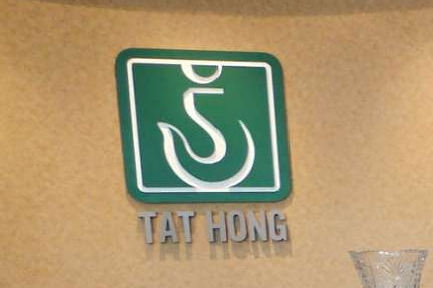 Crane operator Tat Hong Holdings is expected to report a loss for the third quarter.
