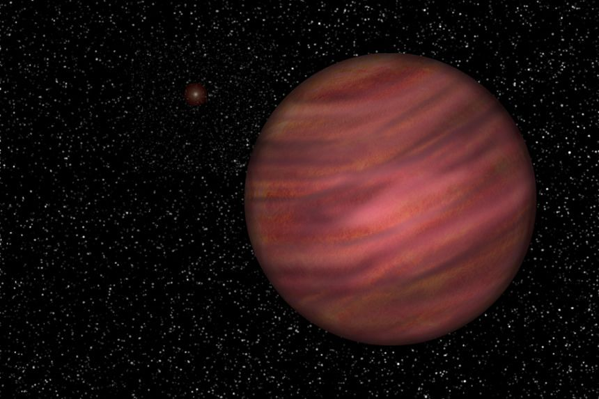 The planet was thought to be free-floating, but has now been linked to a star about a trillion kilometres away.