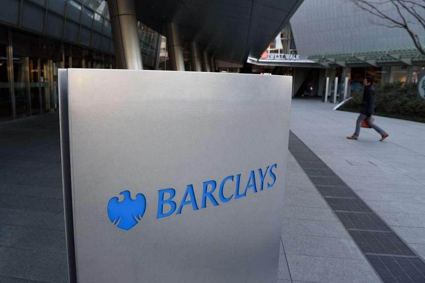 Barclays' offices in Tokyo on Jan 21.
