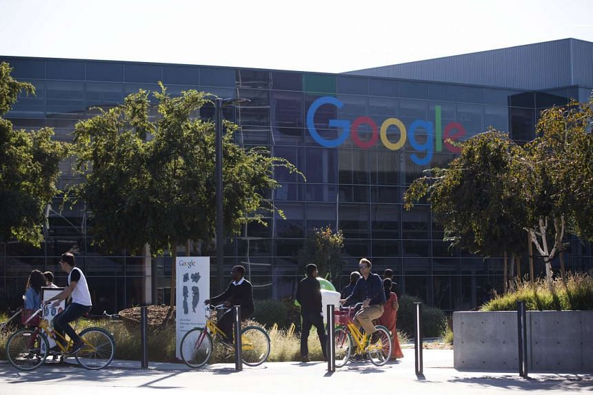 Google's headquarters in Mountain View, California, on Nov 13, 2015.