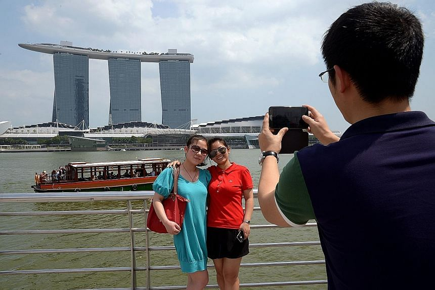 Chinese tourists accounted for the second highest number of visitors to Singapore last year, says the MasterCard report. China's share of tourists to 167 destinations in the Asia-Pacific grew from 5.9 per cent in 2009 to 17.7 per cent last year.