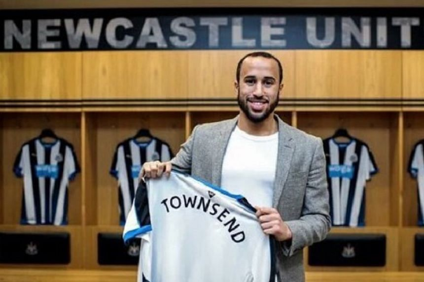 Townsend in a photo he posted to Twitter.