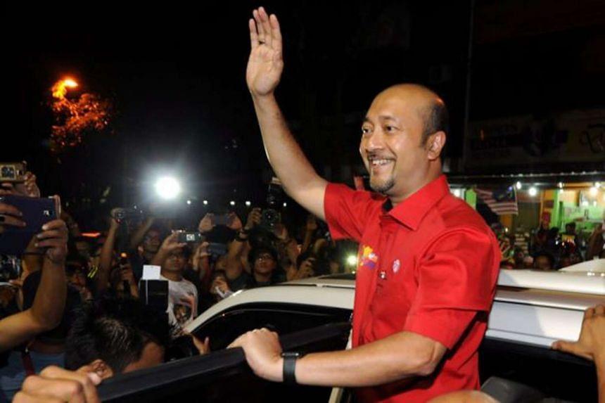 Kedah Menteri Besar Mukhriz Mahathir, who is a son of former prime minister Mahathir Mohamad.
