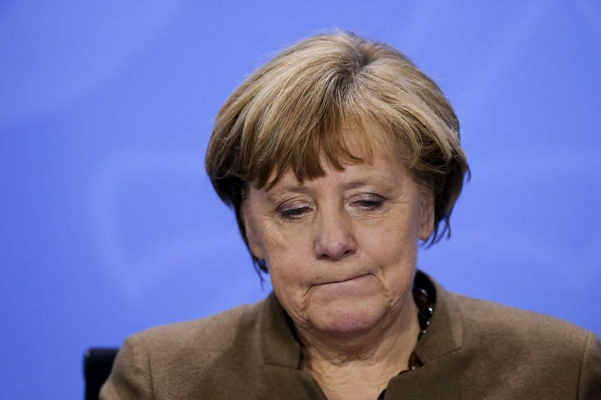 Angela Merkel has pledged to reduce the number of migrants and asylum seekers arriving this year in Germany.