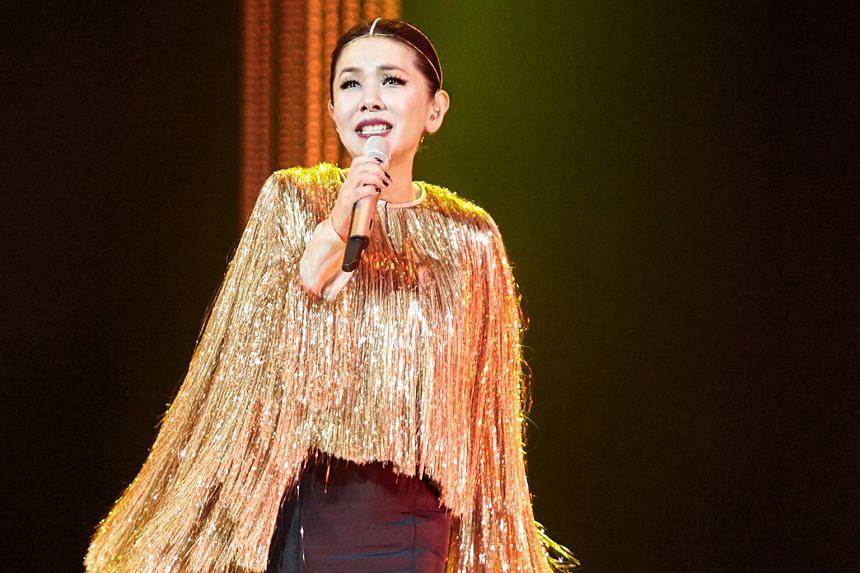 Taiwanese diva Stella Chang.