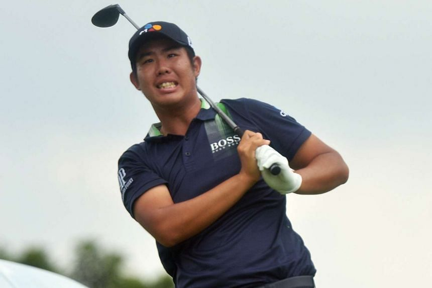 An Byeong Hun was last year's European Tour Rookie of the Year and is currently the second highest-ranked Asian golfer.