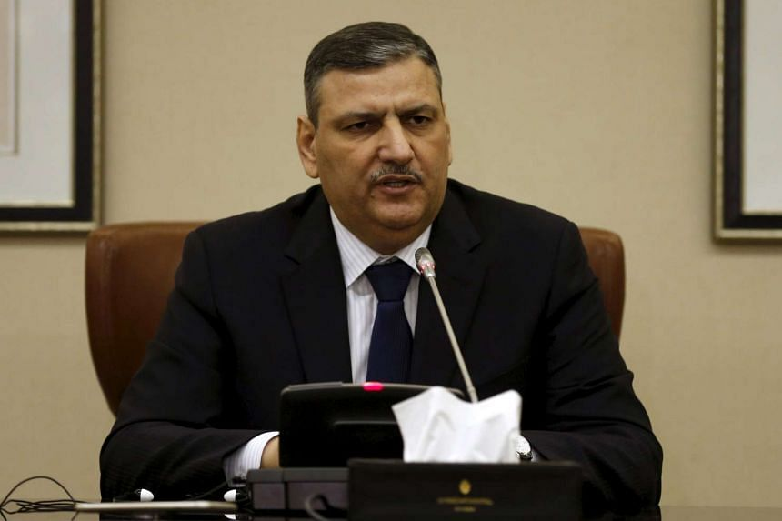 Riad Hijab, who heads the Syrian opposition council backed by Saudi Arabia.