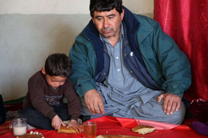 """Mr Muhammad Arif Ahmadi wants his son to become """"the Messi of Afghanistan""""."""