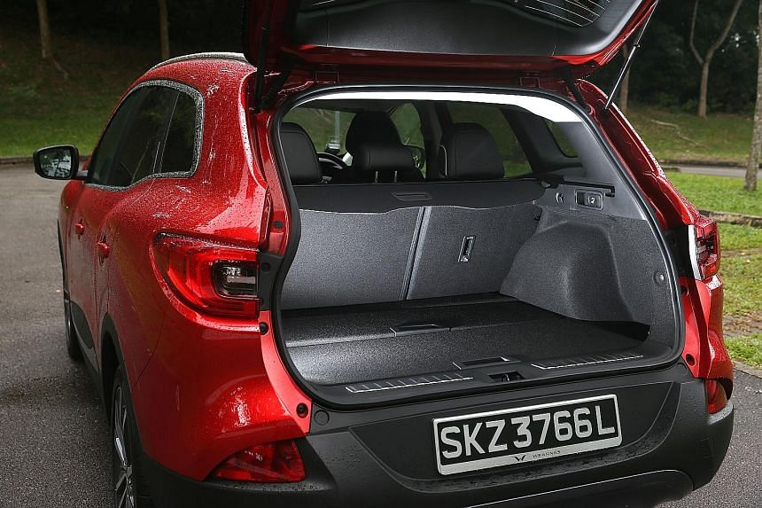The Renault Kadjar looks stylish and comes with a number of premium features.