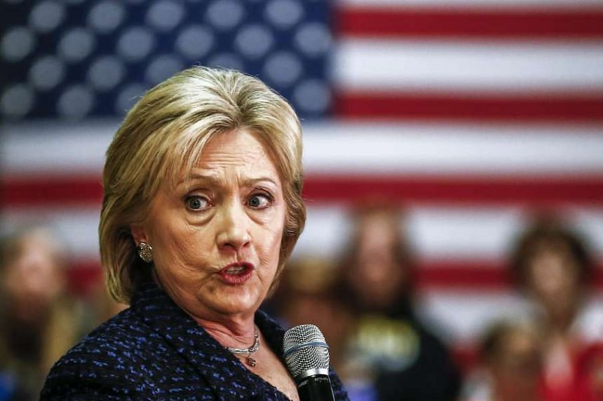 Clinton is the frontrunner for the Democratic presidential nomination.