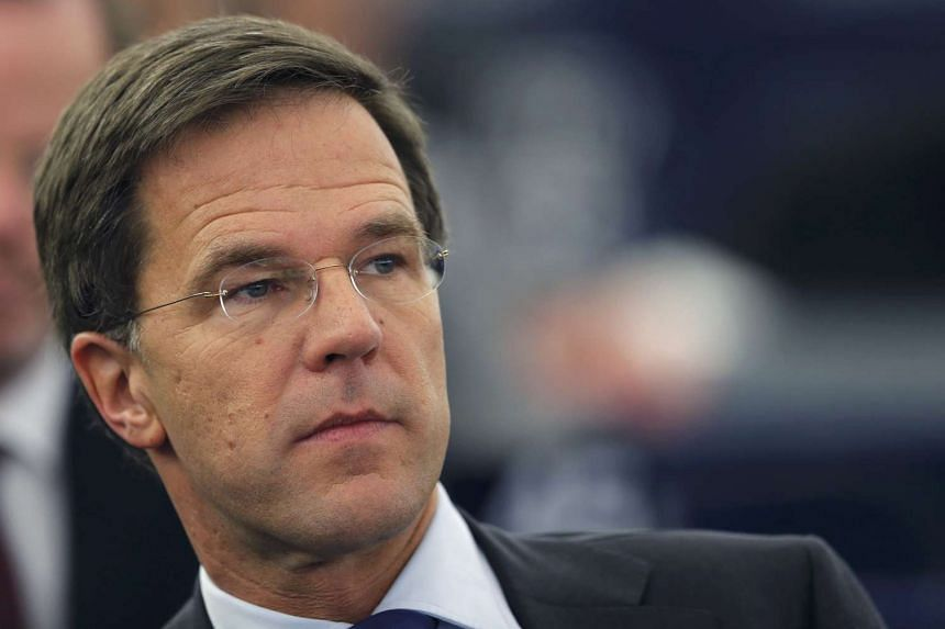 """""""ISIS is a danger for our security and our way of life,"""" Dutch Prime Minister Mark Rutte (above) told journalists on Friday."""