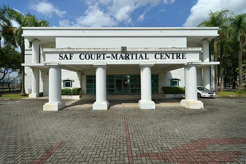 The SAF Court-Martial Centre at Kranji Camp II.