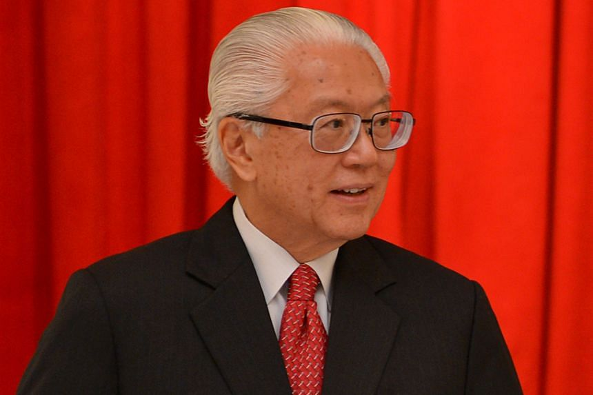 Mr Ong Teng Cheong (1993 to 1999) was the first Elected President, followed by Mr S R Nathan (1999 to 2011) and (above) Dr Tony Tan Keng Yam (2011 - present ).