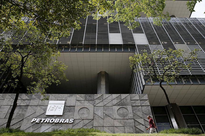 The Brazil's state-run Petrobras oil company headquarters in Rio de Janeiro on Jan 28, 2016.