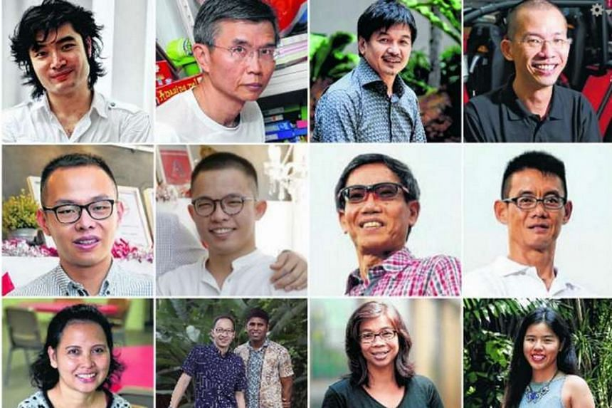 Singaporean of the Year 2015 nominees.